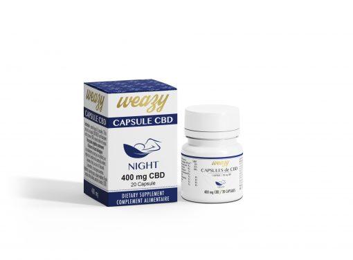 Capsules de CBD 20 mg (20 ou 60 capsules) WEAZY 1