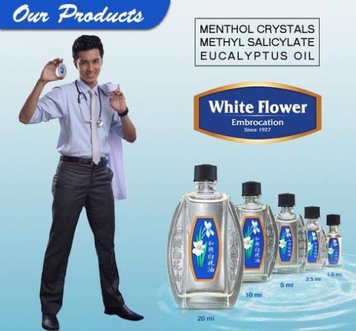 Huile analgésique White Flower 5 ml 1